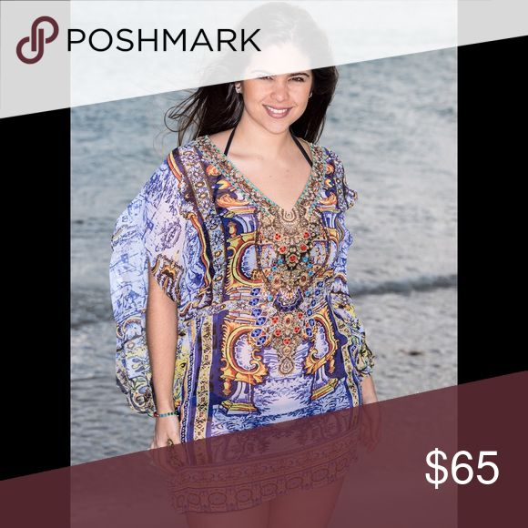 Imperial Tunic Lovely print inspired in the imperial age. Match it with your swimsuit or your favorites pants 🏖🌇 Tops Tunics
