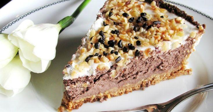 cheesecake senza zucchero, cheesecake al cioccolato