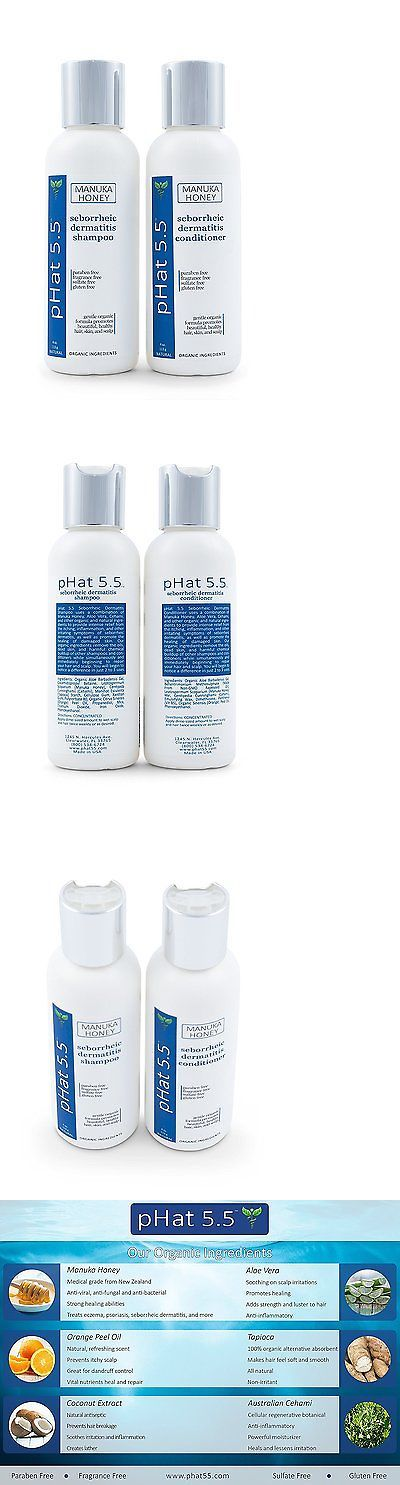 Medicated Hair Treatments: Seborrheic Dermatitis Shampoo And Conditioner Set - Best Scalp Treatment, For By -> BUY IT NOW ONLY: $33.11 on eBay!