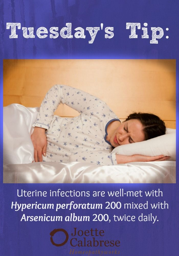 Uterine infections are addressed with a specific protocol. Find out more in this blog. ~joettecalabrese.com