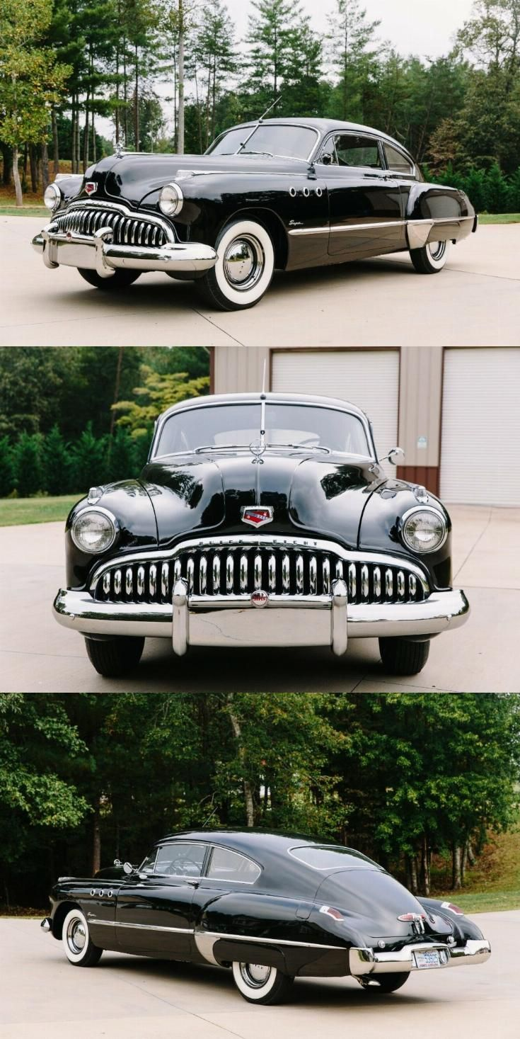 1949 Buick Super Buick Cars Cool Old Cars American Classic Cars
