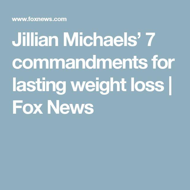 Jillian Michaels' 7 commandments for lasting weight loss | Fox News