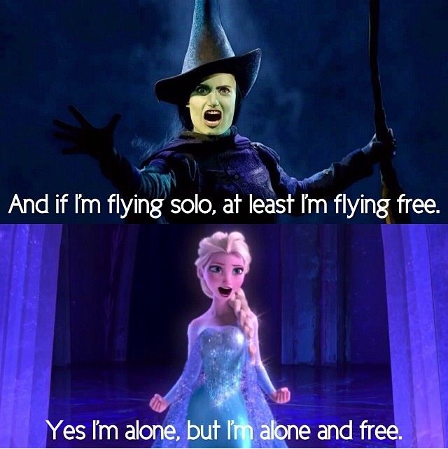 Love the resemblance! You go Idina!  I knew it was here as soon as she started singing in Frozen.  The songs are so similar!