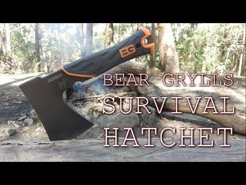 Gerber Bear Grylls Survival Hatchet Review - Ultimate Survival Hatchet - Tools Freak