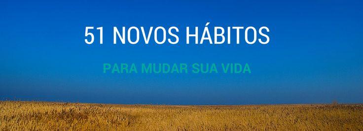 Para começar a trabalhar ou melhorar qualquer parte da vida é preciso criar novos hábitos. Você sabia que se leva 21 dias para criar um novo hábito?