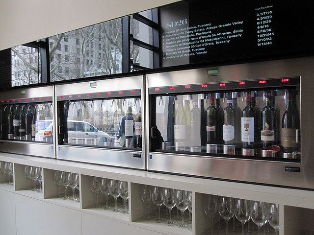 Enomatic Wine Dispenser by hartley confections, via Flickr