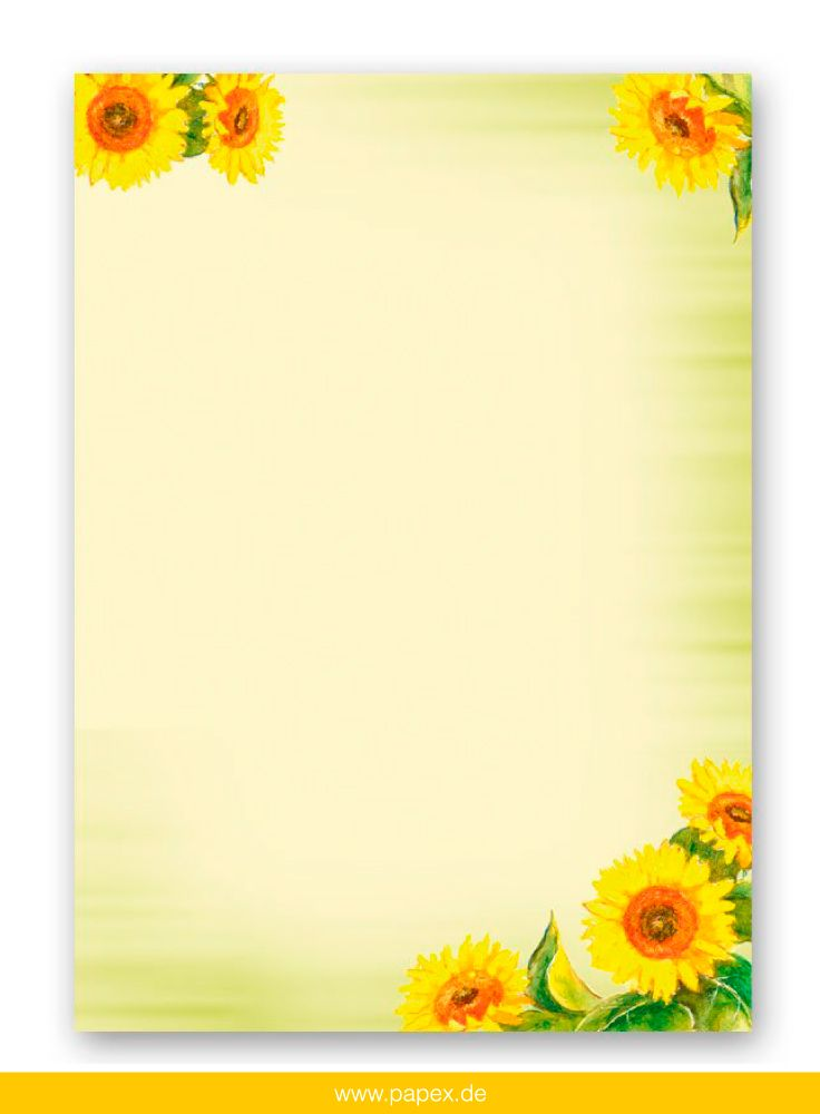 DIN A4 Format 20 Blatt Motiv-Briefpapier PFIRSICHBLÜTEN