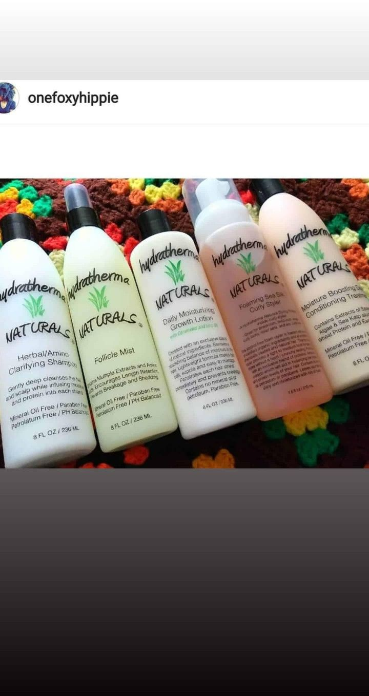 Hydratherma Naturals Faves For Textured Hair In 2020 Black Natural Hair Care Natural Hair Styles Relaxed Hair