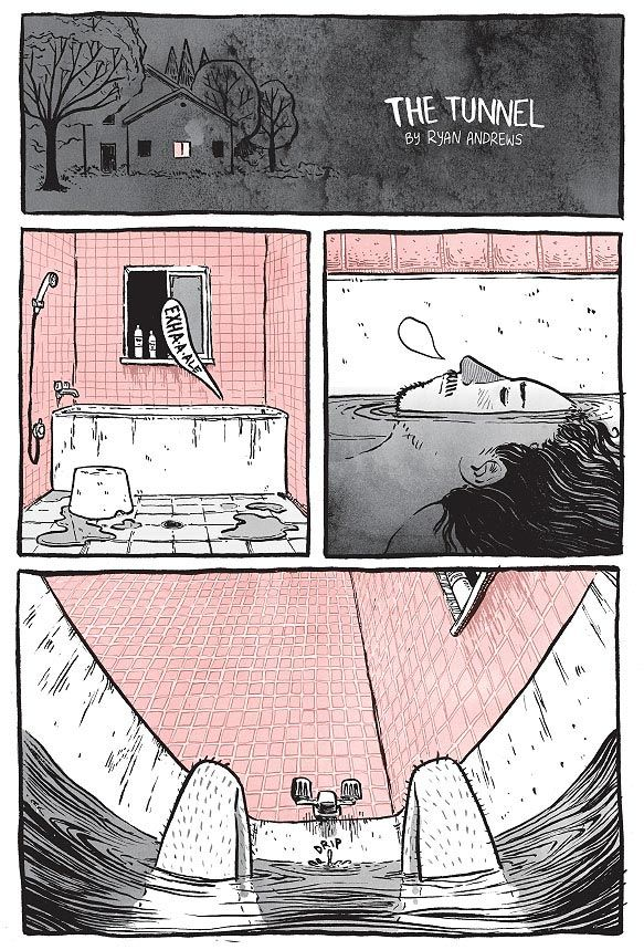 Creative Comic Strip: The Tunnel by Ryan Andrews