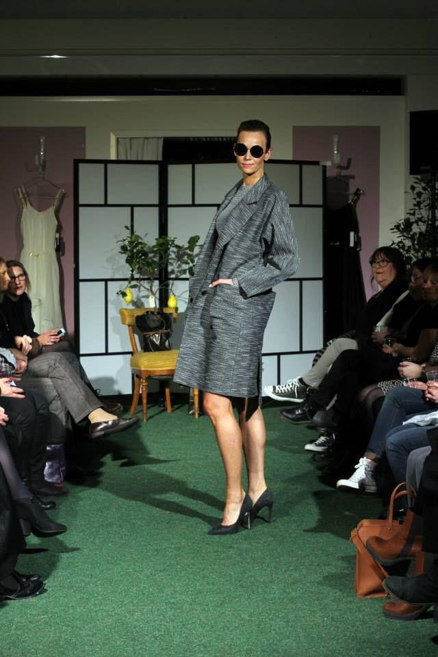 SS14 FASHION SHOW, Carin Wester and LeSpecs sunglasses, shoes Jennie-Ellen