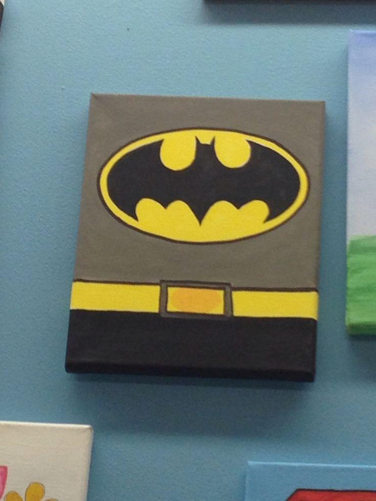 The 25 best batman crafts ideas on pinterest hulk hulk for Batman bedroom paint ideas