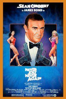 007 - Nunca Mais Outra Vez (1983) Poster