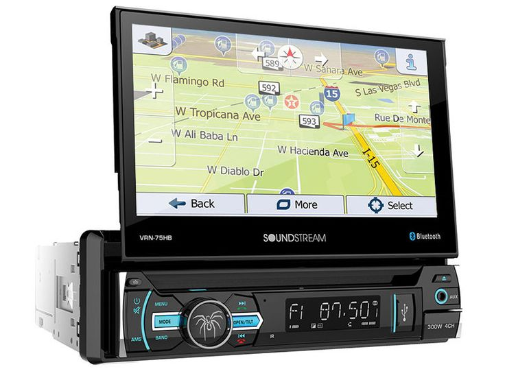 Vehicle Electronics And GPS: Soundstream Vrn-65Hb Aptix Double-Din Gps Dvd Bluetooth Car Stereo W/6.2 Screen -> BUY IT NOW ONLY: $209.99 on eBay!