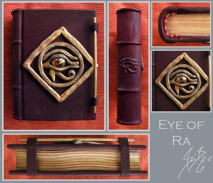 Eye Of Ra Book by ~versarnwen on deviantART  Kind of neat someone pinned my work!