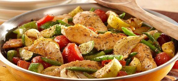 Κοτόπουλο με λαχανικά στην κατσαρόλα(3 μονάδες)