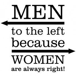Men to left