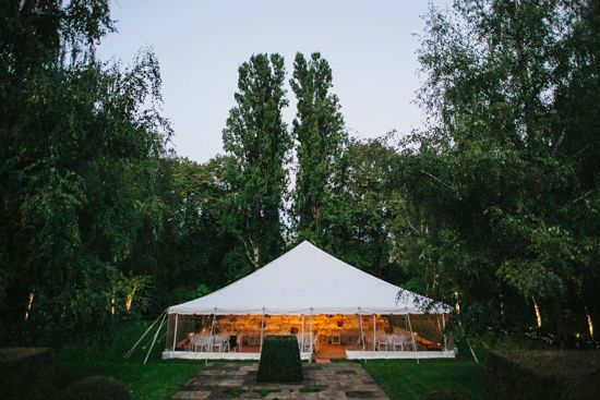 Lisa and Hugh's High Country Marquee Wedding