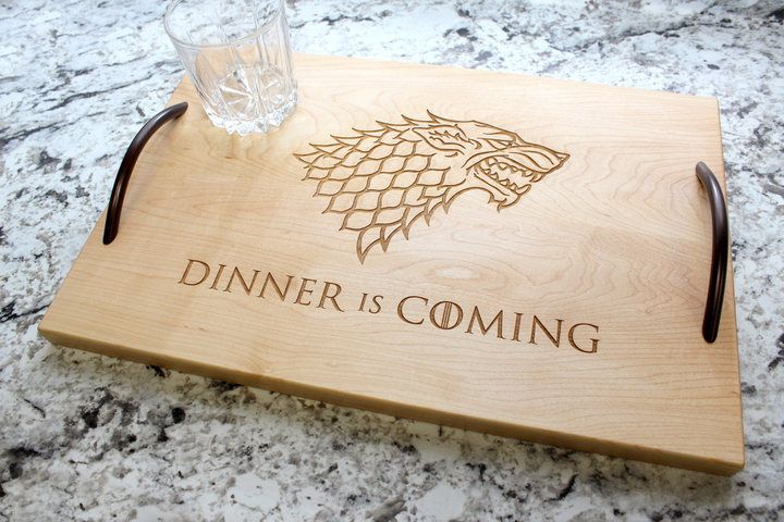 Wooden Serving Tray #GameofThrones