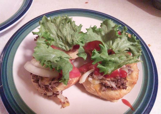 Cheeseburger Buscuits Recipe -  Let's try to make Cheeseburger Buscuits in our home!