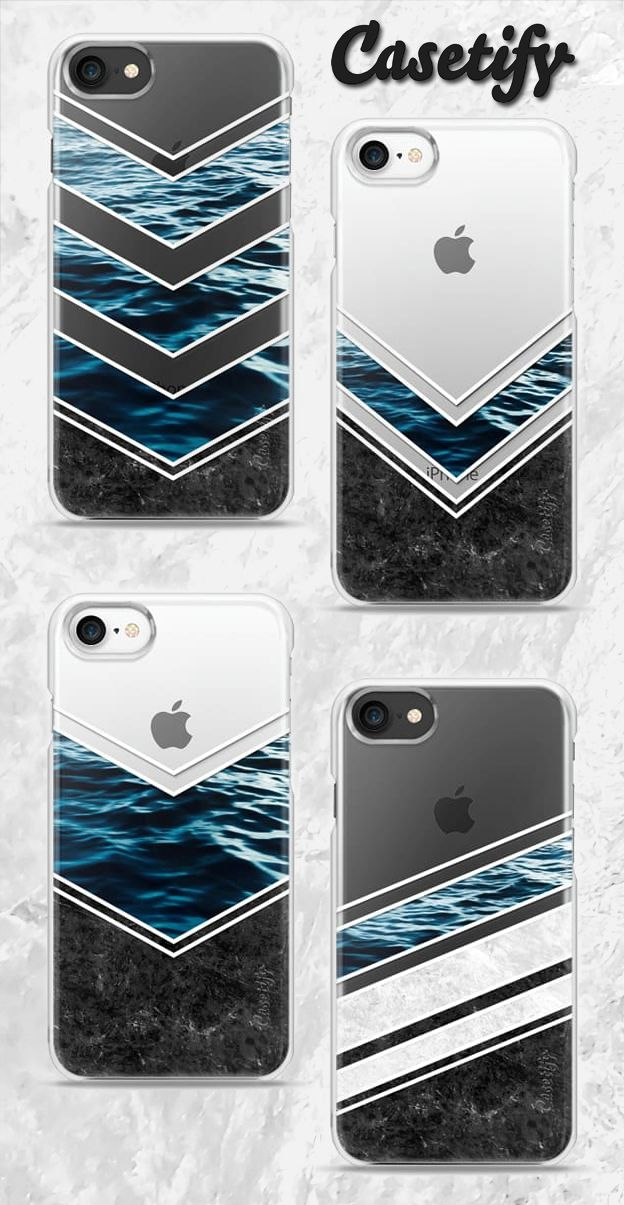 Striped Materials of Nature Cases from @casetify by Nicklas Gustafsson #casetify #marble #stone #sea #ocean #stripe #stripes #striped #nature #texture #transparent #clear #iphone #case #black #white