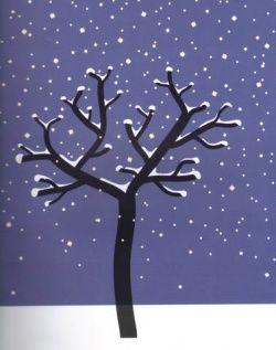 Sur le thème de l'hiver - Arts plastiques- Poésies