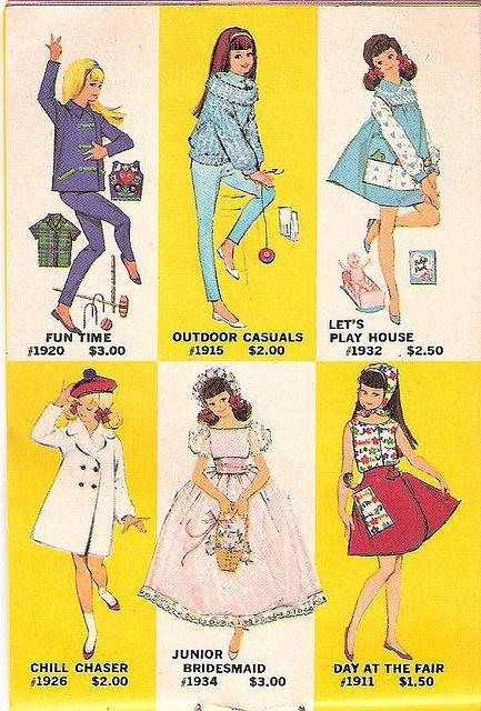 Skipper Fashions booklet