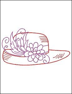 #3900 Colorwork Red Hats