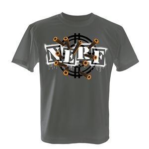 Play.com - Buy Nerf Boy's Darts & Targets T-Shirt (Grey) online at Play.com and read reviews. Free delivery to UK and Europe!