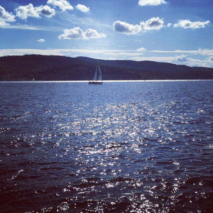 Norway , at the sea in the city of Drøbak