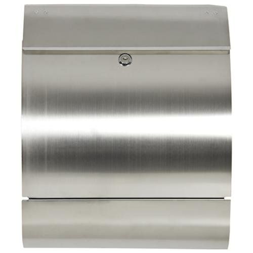 Mailbox Stainless Steel Locking Mail Box Letterbox Postal Box Modern Design New - I've always liked this mailbox!  $59 - remember we have chrome door hardware on the outside.