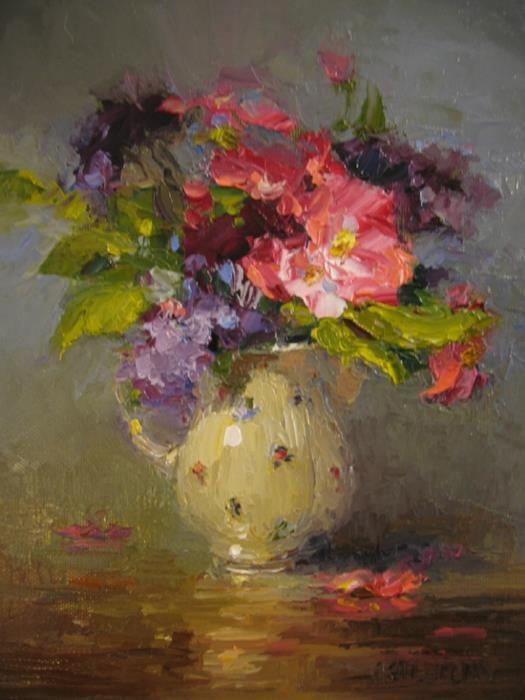 ❀ Blooming Brushwork ❀ - garden and still life flower paintings - Susan Astleford
