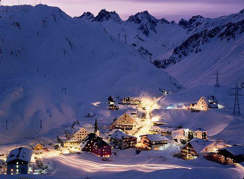 Our destination: St. Anton am Arlberg Austria!