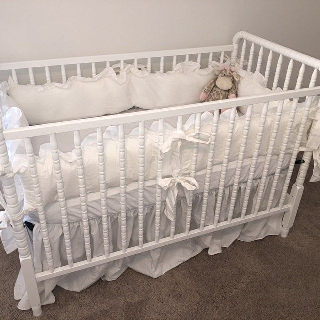 Neutral Crib Bedding Girl Crib Bedding Baby Boy Bedding Neutral