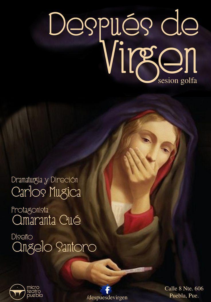 #Advertising Opera theater Después de Virgen by Carlos Mugica