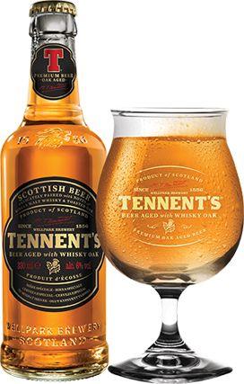 4.3/5 Tennent's Beer Aged with Whisky Oak -созревает в бочках из под виски