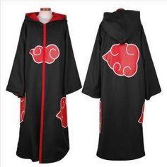 Akatsuki Cloak (http://www.399animeshop.com/cosplay/naruto/akatsuki-cloak-with-cape-team-hawk.php)