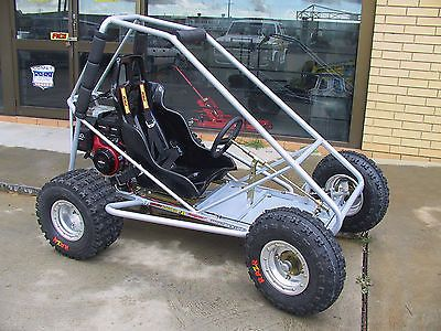 Trax II, offroad, mini dune buggy, sandrail, go kart plans on CD disc