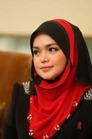 Siti Nurhaliza in hijab attire