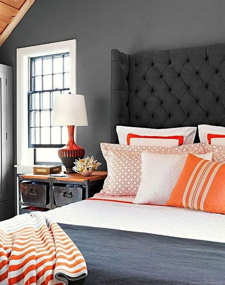 50 Of The Best Modern Paint Colors For Bedrooms Bedroom Orange Dark Gray Bedroom Blue Master Bedroom