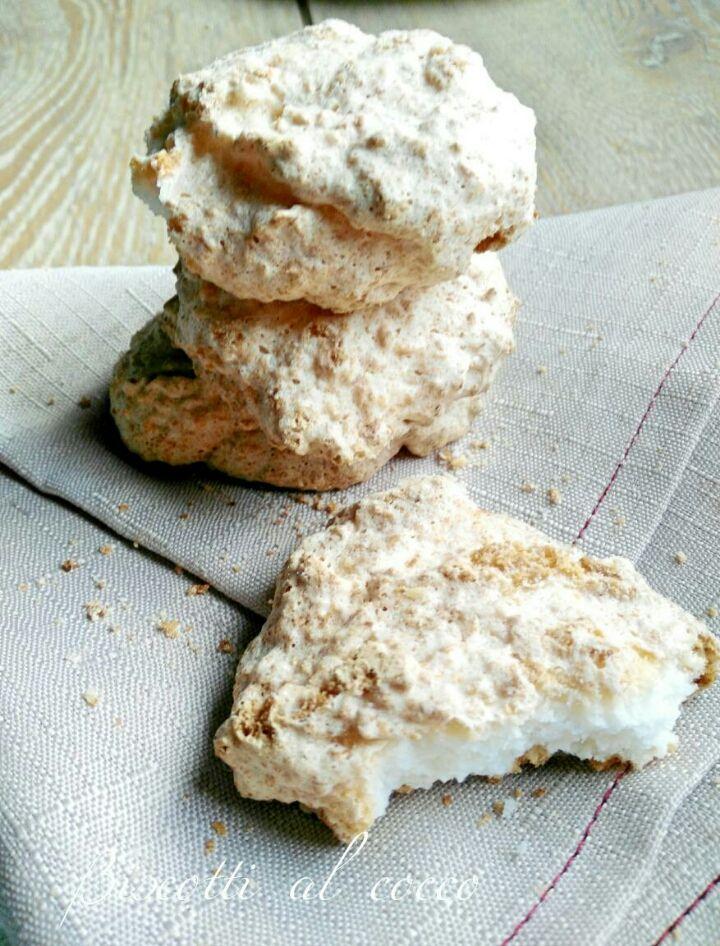 Biscotti al cocco - ricetta semplice