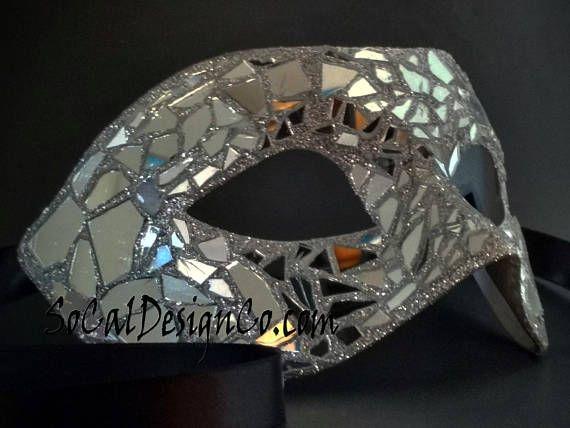 Halloween Mask Mirror Mask Mirror Masquerade Mask Woman Mask Mask For Man Real Mirror Mask Mosaic Mirror Mask Masks Masquerade Masquerade Mask Masquerade