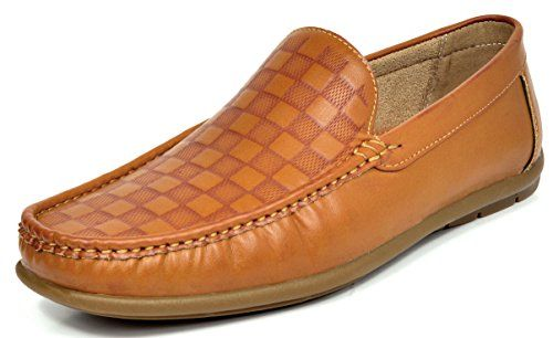 Bruno Marc Men's BENNETH-02 Tan Driving Loafers Moccasins Shoes – 11 M US