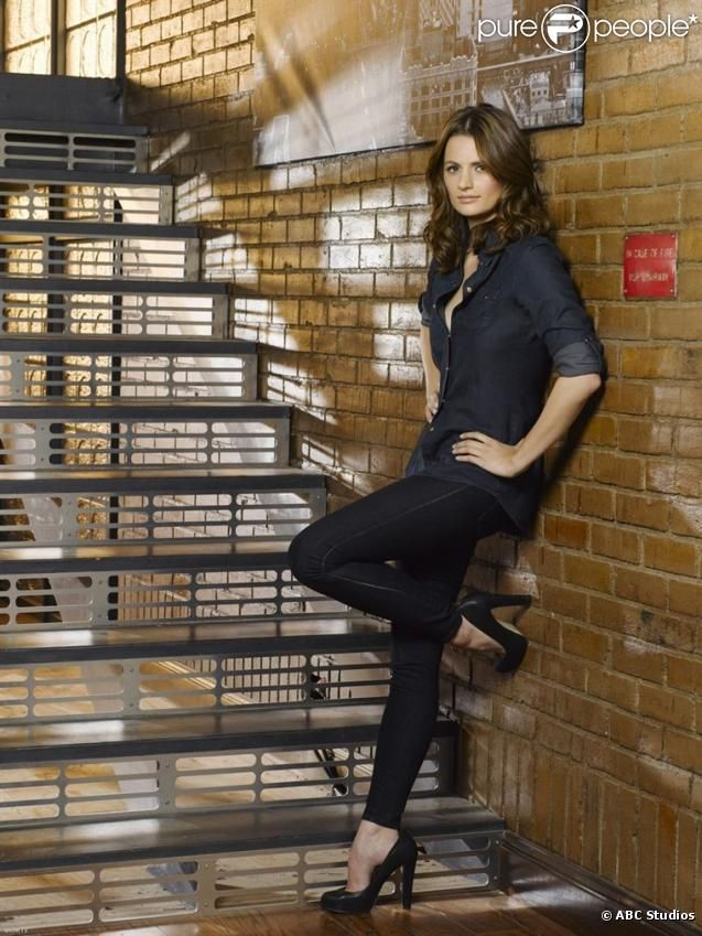 Stana KATIC is  as Kate Beckett
