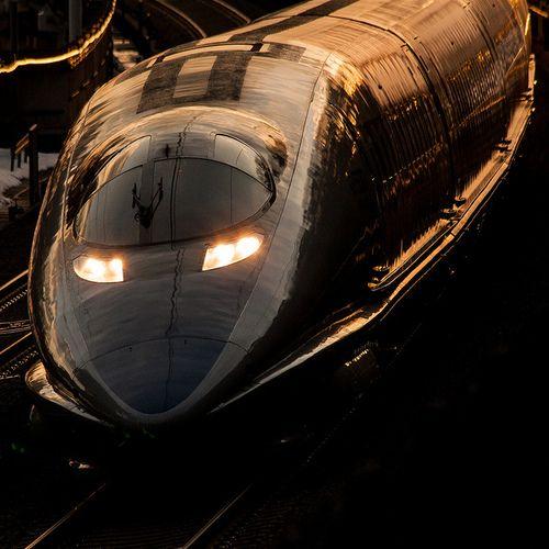 JR Shinkansen Series 500 - 新幹線500系 on Flickr.