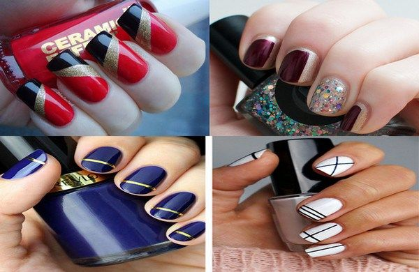 Best 10 Easy Nail Designs You Can Do With Scotch Tape