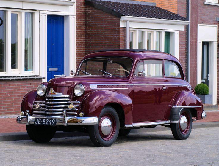 1952 - Opel Olympia