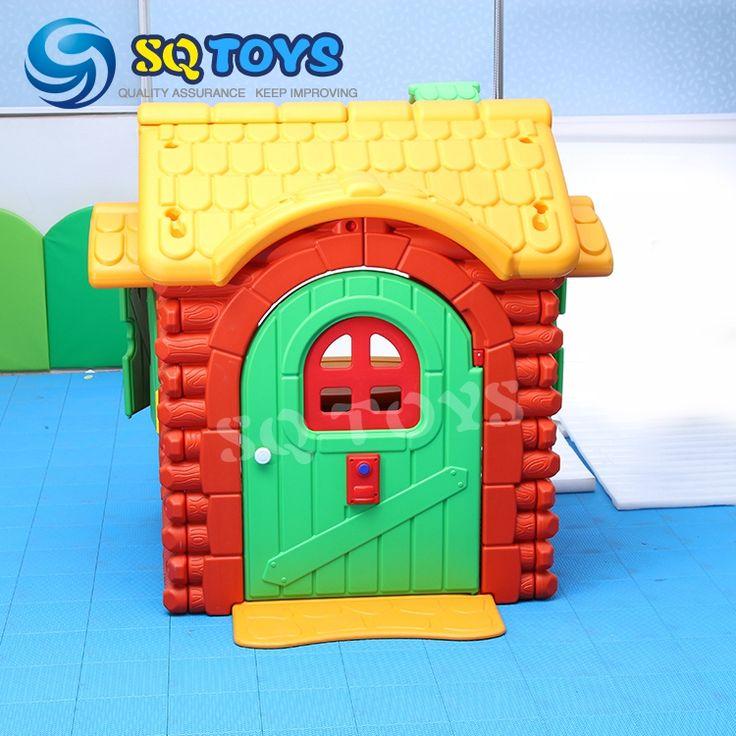 Wholesale 5 Sets Hot selling Indoor Children Plastic Playhouse for Preschool #Affiliate