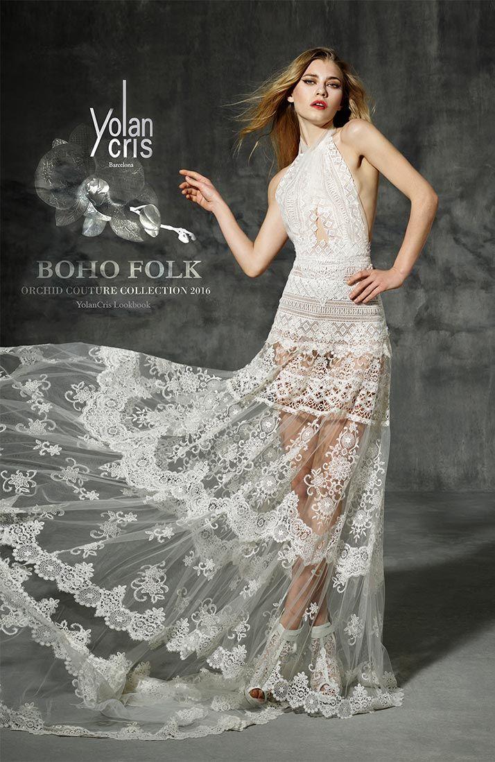 Yolan Cris vestido de noiva boho