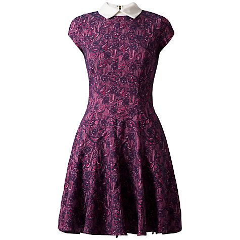 £31 Buy Almari Jacquard Collar Dress, Multi Online at johnlewis.com