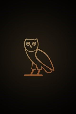 Drake OVO Owl Dark iPhone 6 Wallpaper